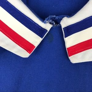 Vintage Costumes - 5 for $25 Overton Vintage Blue Cheerleader Top